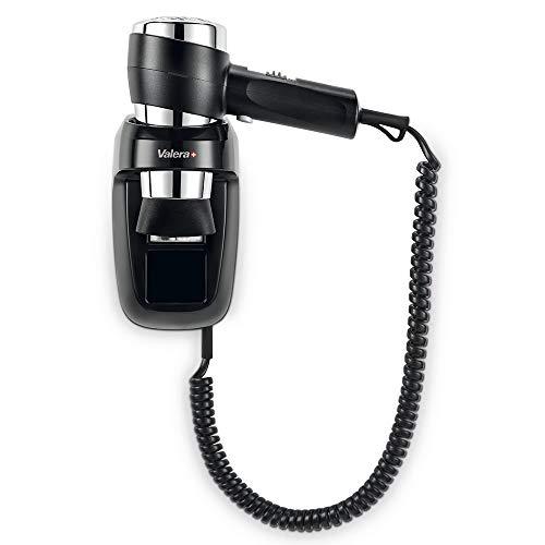 Valera Secador de pelo con soporte de pared Action Protect 1600, 1600 W, color negro/cromo