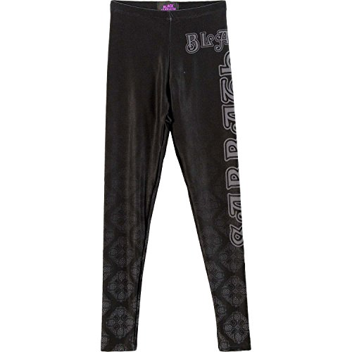 Black Sabbath Women's Celtic Logo Leggings Medium/Large Black