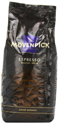 Mövenpick Kaffee Espresso ganze Bohnen, 1 kg