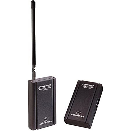 Audio-Technica PRO 88W-R35 VHF Wireless Lavalier System with ATR35 Mini Omnidirectional Clip-On Microphone