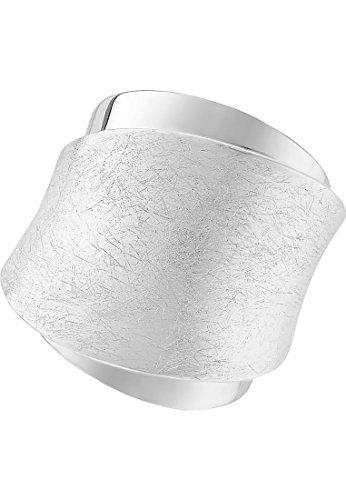 Quinn Damen-Damenring 925er Silber 58 Silber 32004407