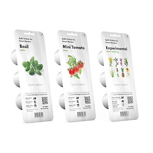 CLICK AND GROW Smart Garden 3 Jardinera De Inter 30 X 10 X 28 Cm Blanco