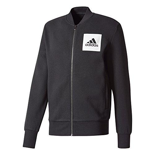 adidas Herren Essential Bomber Trainingsjacke Jacke, Schwarz, XL