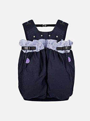 """Weego Babytragesack Modell #325\""""TWIN Blue Pepita\"""", speziell für Zwillinge ab einem Gewicht von 1800g"""