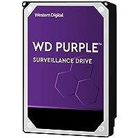 Western Digital WD Purple 4TB para videovigilancia - 3.5 pulgadas SATA 6 Gb/s disco duro con tecnología AllFrame 4K - 180TB/yr, 64MB Cache, 5400rpm - WD40PURZ
