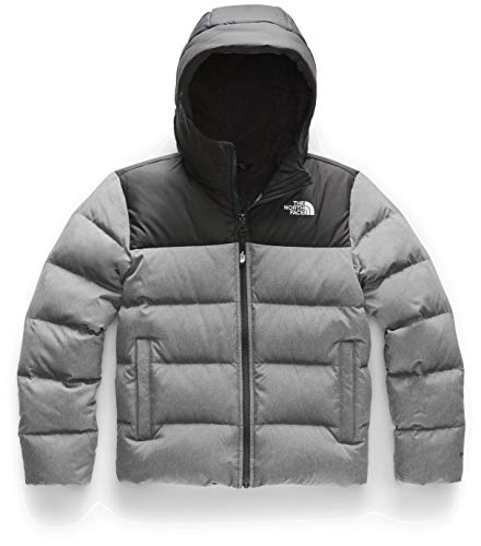 THE NORTH FACE Kinder Moondoggy 2.0 Kapuzenpullover, isolierte Daunen, TNF L TNF Med Grey Hr
