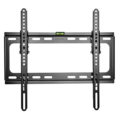 TRESKO LCD TV Plasma Wandhalter neigbar kippbar Wandhalterung Universal Fernseher VESA Halterung Fernsehhalterung LED Flachbildschirm ca. 51 - 138cm (20 - 55