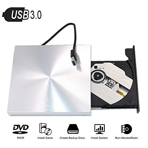 LXIANGP Externes Mobiles USB3.0DVD-RW CD-Brenner Speicher CD-Laufwerk Player Notebook MAC Desktop Universal kompatibles Window2000 / XP / 2003 / Vista / WIN7 / WIN8 / WIN10 / Linux/Mac OS-System