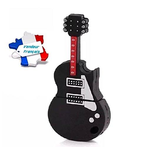 CLE USB Guitarra eléctrica negra y roja capacidad 8gb, y patines rápido...
