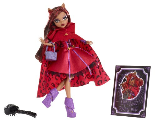 Mattel X4485 - Monster-High Märchen-Rotwölfchen, Puppe