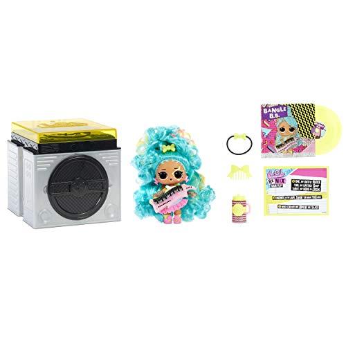 LOL Surprise Remix Muñecas Hair Flip , Coleccionable , 15 Sorpresas , Con Cabello a Revelar, Accesorios y Música