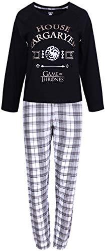 Pijama Negra, a Cuadros X-Small