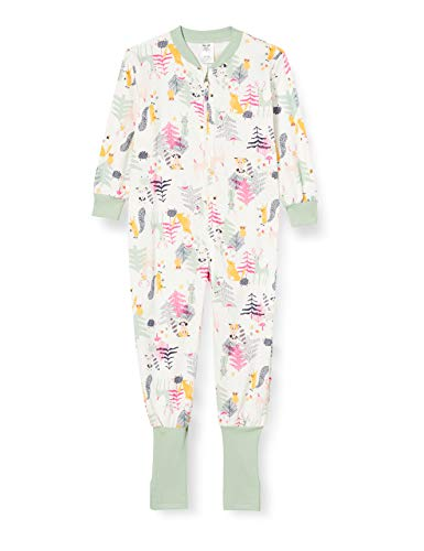 CALIDA Unisex Baby Toddlers Forest Pyjamaset, Subtle Green, 80