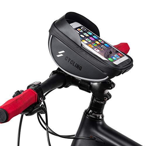 EisEyen Fietstas, frame, voor fiets, fiets, voorwiel, hoog frame, tas voor telefoon