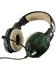 Trust 20865 GXT 322Gaming Kulaklık, Yeşil, 20865