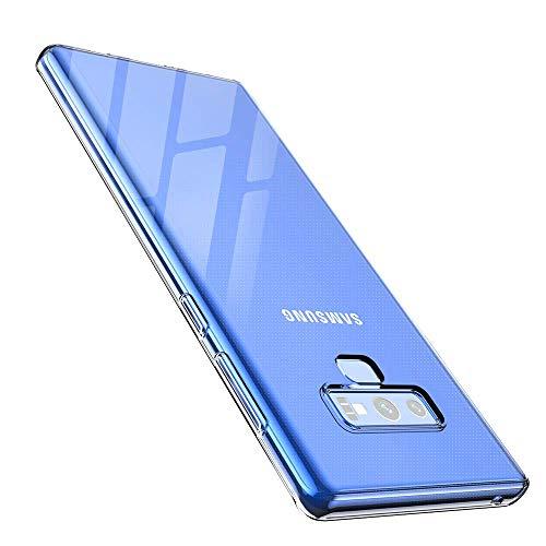 anccer Funda para Samsung Galaxy Note 9, Silicona Transparente Protector Gel Ultra Fina Protección Case Compatible para Samsung Galaxy Note9 (Slim, Transparente)