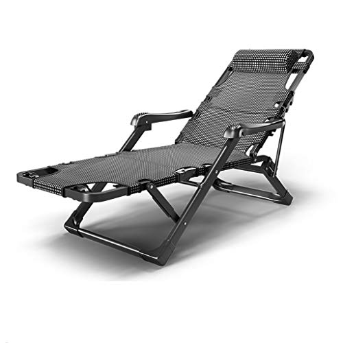 Folding bed Folding Recliner For Lunch Break And Nap Home Leisure Beach Lazy Chair Portable Outing And Carrying Chair Home Folding Recliner Lightweight And Convenient