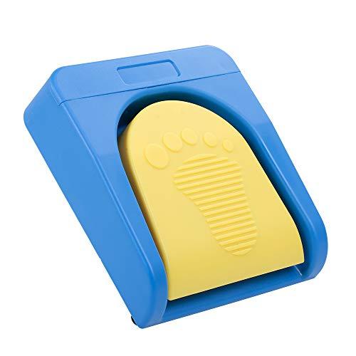 Festnight Pedal de pie Multifuncional Personalizado Interruptor de pie inalámbrico BT Soporte BT/Conexión por Cable para Control de Juegos de adquisición de imágenes