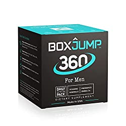 in budget affordable A daily nutrition pack containing BoxJump 360 for men, vitamins, minerals, omega-3 fatty acids, probiotics …