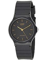Casio Unisex-Adult Quartz Watch, Analog Display and Resin Strap MQ-24-1E