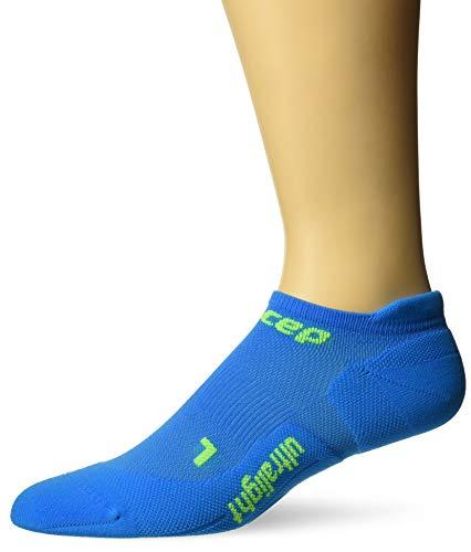 CEP Unisex-Erwachsene Ultralight No-Show Socken, Unisex-Erwachsene, Blau/Grün, II