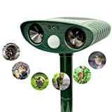 Ultrasonic Animal Repeller |Solar Powered...