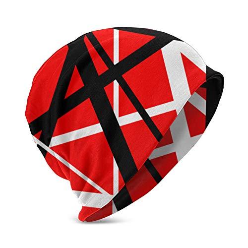 Van Halen Kids Breathable Knit Cap Print Beanies Hats Thin Skull Cap Black