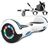 MARKBOARD Hoverboards, Accesorio para Karts, Scooter autoequilibrado con Hoverkart 6.5 Pulgadas Hoverboards para niños,...