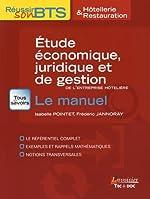 Etude économique, juridique et de gestion de l'entreprise hôtelière - BTS Hôtellerie et restauration d'Isabelle Pointet