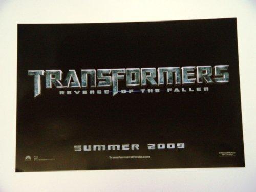 Transformers Revenge of The Fallen San Diego Comic Con 13.5 x 20 Poster