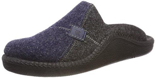 Romika Herren Mokasso 302 Pantoffeln, Blau (Marine Kombi 521 521), 44 EU