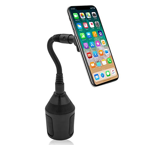 Car Cup Holder, Leagway Magnetic Cup Holder Phone Cradle Mount Compatible with Samsung Galaxy S9 S8 S7 S6 Edge S5 Note 7 8 5, Nexus 5/4, LG, Google, Huawei, Most Cell Phone Smartphone, Tablet, GPS