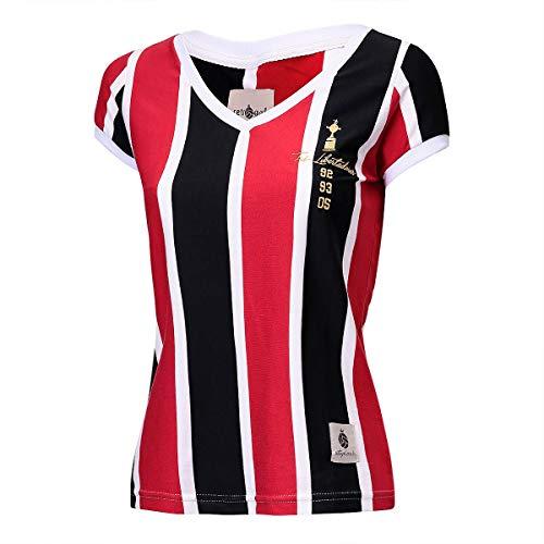 Camisa São Paulo Retrô Gol Libertadores Feminina