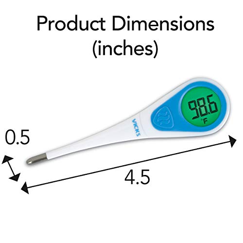 Vicks SpeedRead V912US Digital Thermometer, 1 Count (Pack of 1)