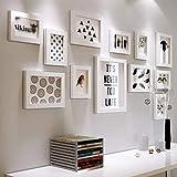 12 Conjunto de marcos de fotos múltiples Bricolaje de madera Cuadro de fotos de fotos de bricolaje...