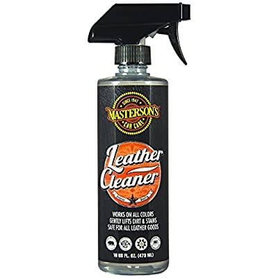 Masterson's Car Care MCC_115_16 Leather Cleaner Sprayable Colorless (16 oz)