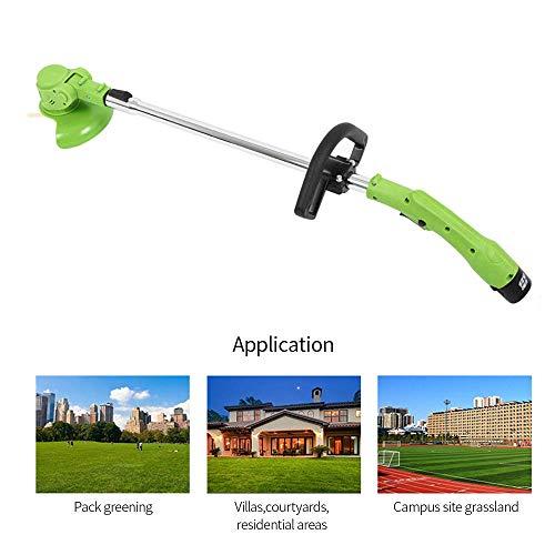 S eléctrico del cortador de hierba, de múltiples funciones recargable Cortadora de cesped cortacéspedes, cortacésped portátil, por Wireless Home césped del jardín lalay