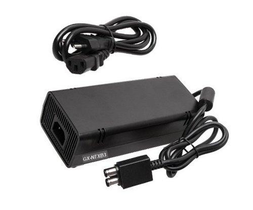 GiXa Ersatz Netzteil Ladekabel Ladegerät AC Adapter für Microsoft Xbox360 Slim Xbox 360 Slim 135 W Suitable for X-360 Slim Charger geeignet passend für Xbox 360 Slim