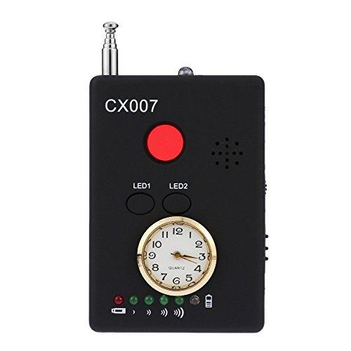 Hangang multifunzionale Anti-Spy full-range RF Wireless segnale radio rilevatore telecamera nascosta auto-détection Tracciare Finder Sensibilità regolabile