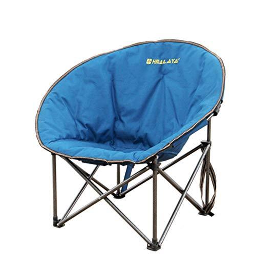 JYQ-SZRQ Silla de Camping Plegable Al Aire Libre Asiento Portable de la...