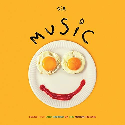 Sia Music - Canciones de e inspiradas en la película Nueva portada del álbum Pintura Póster Arte de la pared Decoración Regalo -60x60cm Sin marco