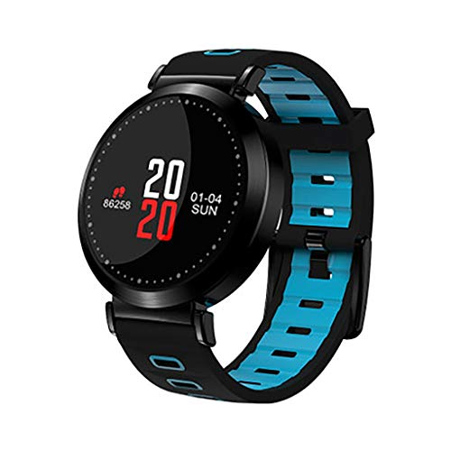 Rx Y10 smart watch Bluetooth sport horloge bloeddruk hartslag gezondheid ouderen stap voor stap slaap monitoring, D