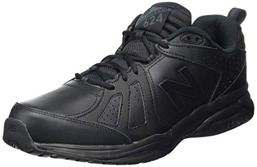 New Balance 624v5, Zapatillas Hombre, Negro (Black), 40 EU