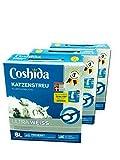 +3 Pakete+ COSHIDA Ultra Katzenstreu Weiß, 18 Liter , Klümpchenbildend, mit frischen Duft