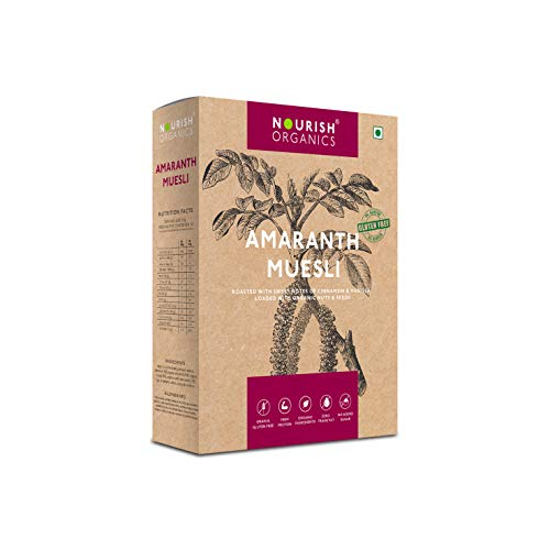 Nourish Organics Amaranth Muesli 280g