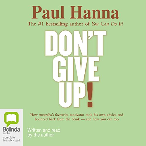 Don't Give Up! audiobook cover art