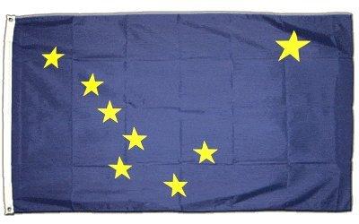 Flagge Fahne Alaska 90 * 150 cm
