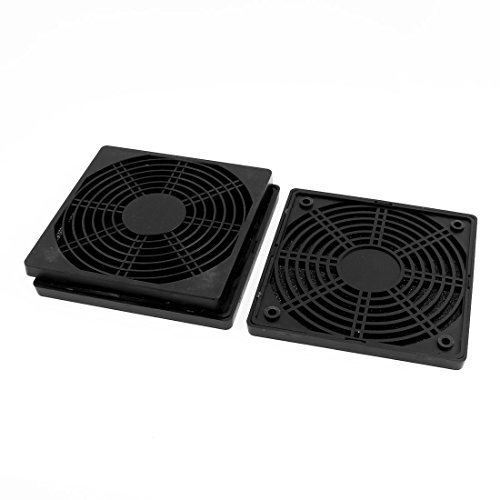 DealMux 3pcs 139 mm x 139 mm a prueba de polvo caja de la PC caja de la computadora del ventilador filtro de polvo