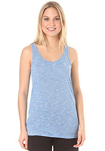 Volcom Back it up Tank Top Azul–Camiseta, Mujer, Back It Up Tank...