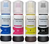 This package contains four bottles of high quality refill inks. One bottle of each Cyan, Yellow, Magenta & Black color holds 70 ML refill ink. This is compatible refill ink by Dubam brand. Please do not misunderstand this product as an OEM brand prod...